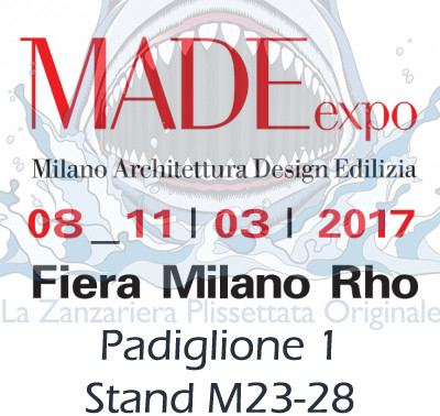 zanzariere al made expo