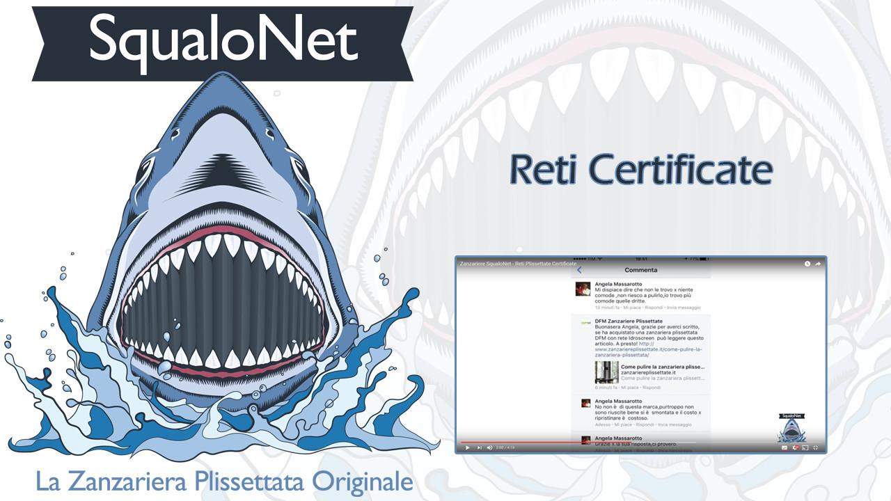 [VIDEO] Reti Certificate – Zanzariere Plissettate SqualoNet
