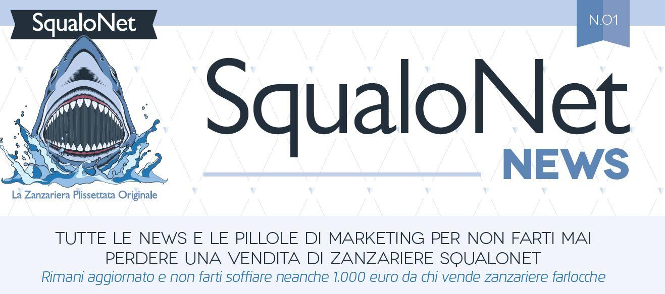 SqualoNet News per non perdere mai una vendita di zanzariere SqualoNet